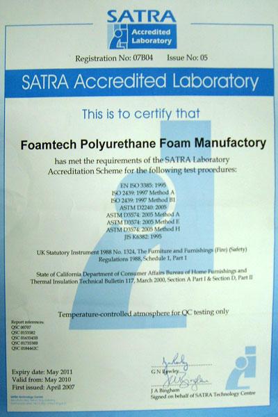 SATRA Laboratory Testing