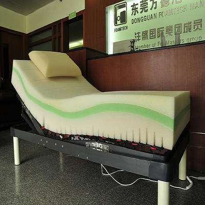 Reticulated Memory Foam Mattress Upholstery Foam Mattress